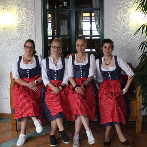 Das Hotel Garni Team